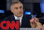 Cardiologist Dr. Steven Reisman explaining Aortic Valve Surgery on CNN