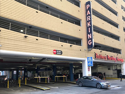 LAZ Parking Battery Parking Garage 56 Greenwich St | cardiologist Downtown NYC